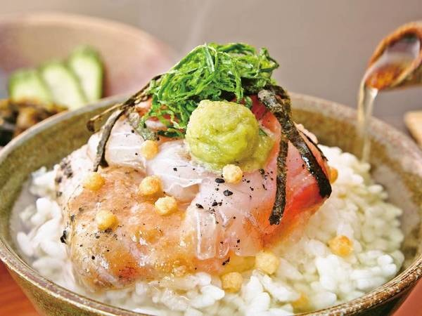 【夕食料理/例】鯛茶漬け