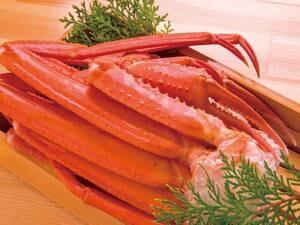 茹で本ずわい蟹(1肩)