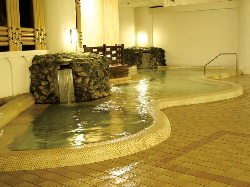 【大浴場 くどりの湯】」白浜野嶋温泉のお湯は体の芯から温まる