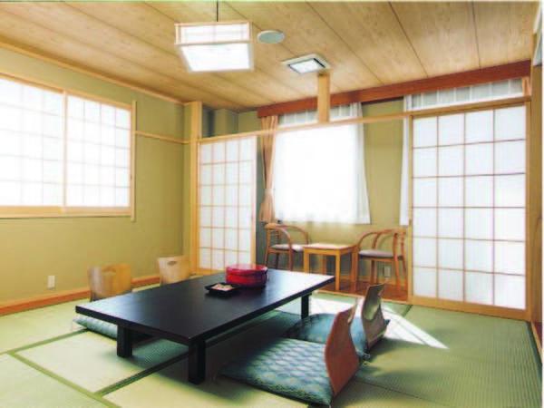 【客室/例】バス・トイレ無しの8畳和室・会場食対応のため価格はお得に!