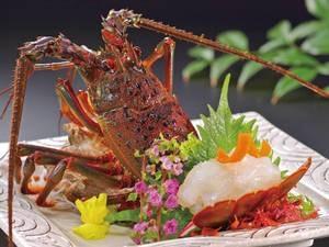 【おすすめオプション】伊勢海老のお造り 2,500円増で夕食時に1品追加!※予約時要申込