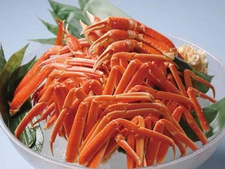 【和洋中バイキング/例】人気の「茹で蟹」も食べ放題!