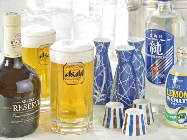 【[飲み放題付]和洋中バイキング/例】アルコールも飲み放題!