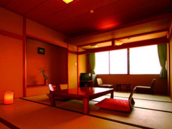 10畳和室 【客室/例】広縁付10畳和室(バス・洗浄機能トイレ付)へご案内