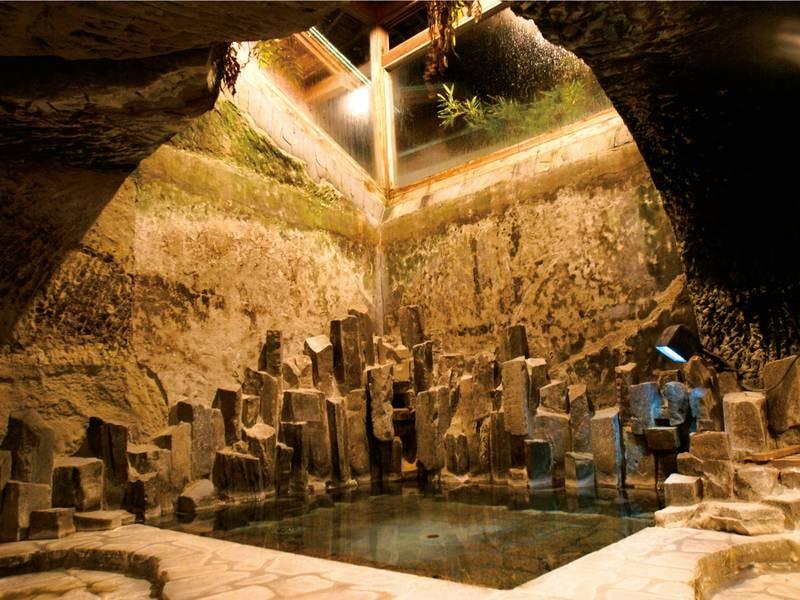 【洞窟風呂】神秘的な雰囲気