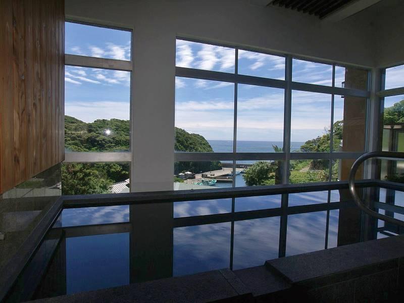 【展望風呂】鵜原理想郷や太平洋を一望