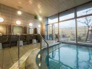 *【大浴場】トロッとした肌触りのきくがわ温泉をお楽しみください。