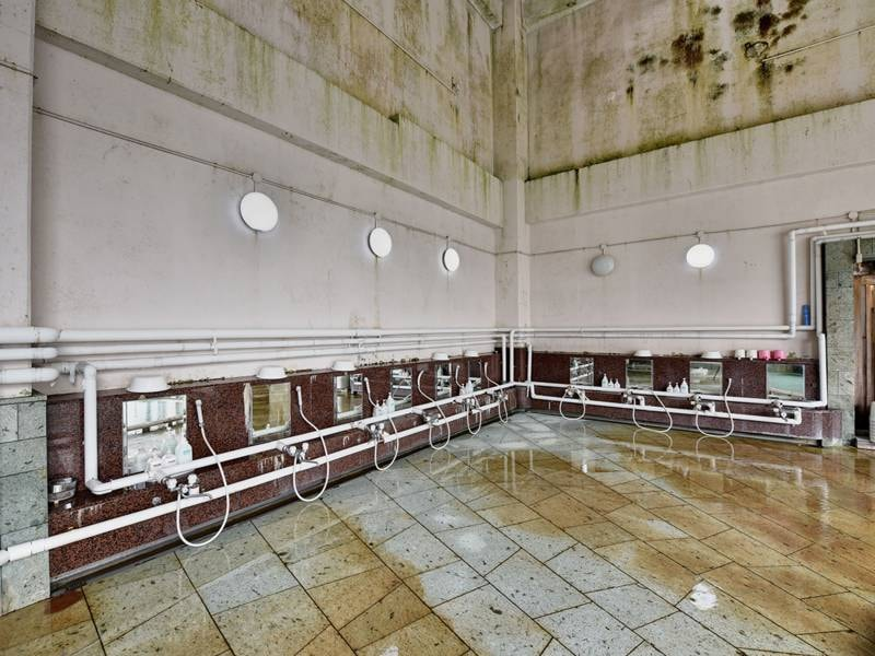 *【温泉】洗い場の数も多数ご用意しております。