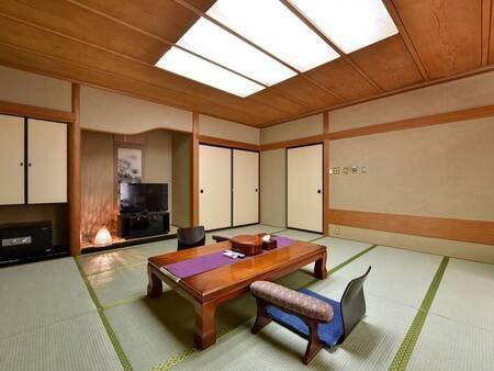 *【和室一例】畳が落ち着く、純和風のお部屋です。