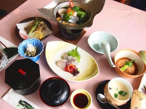 *【冠山コース一例】地元の食材をふんだんに使用