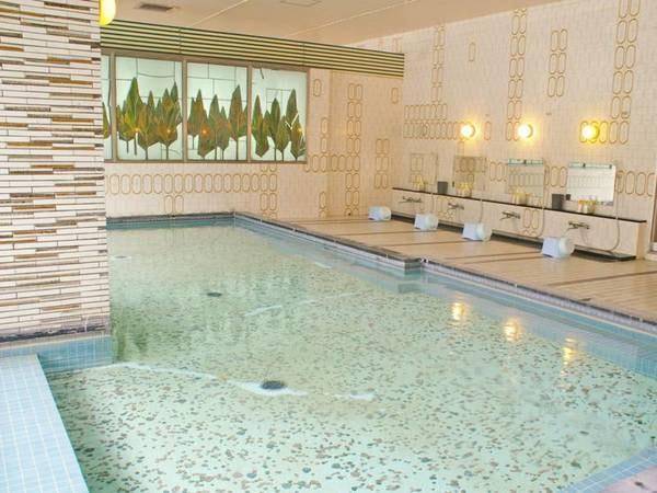 【大浴場】地下600mより噴出する奈良では珍しい天然温泉