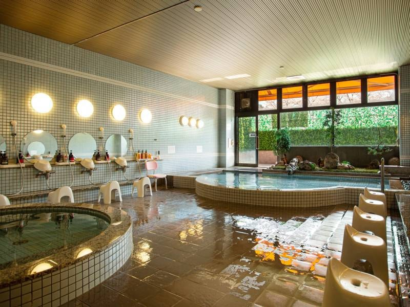 *【大浴場】:美肌、疲労回復に効果がある肌に優しい温泉です