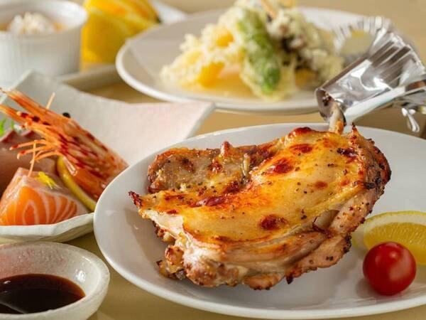 *【骨付き鳥】香川名物♪皮はパリッと、肉汁ジュワ~!ボリューム満点です