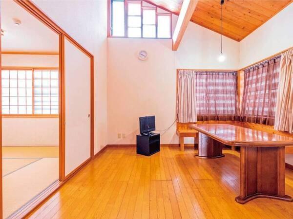 貸別荘/禁煙和室6+6畳+リビング