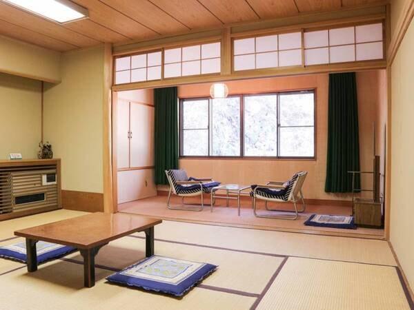 *[別館/客室一例]広縁を配した昔ながらのシンプルな和室10畳の客室
