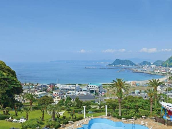 【ホテルからの景色/例】高台に位置するホテルならでは!