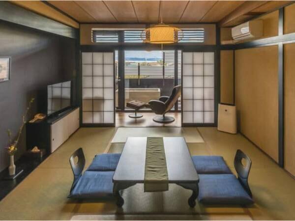 海見える温泉露天風呂付客室(和室)/一例