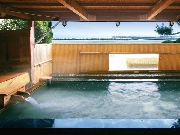 【鴨川ユニバースホテル】海一望の和洋室と泉質の異なる二種の浴場を愉しむ