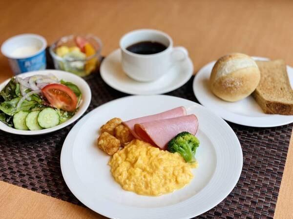 【朝食一例】洋食セットをご用意