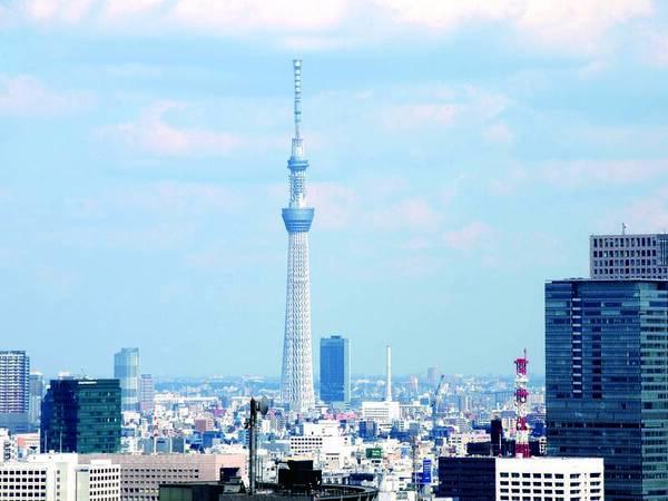 18階以上確約!東京スカイツリー(R)を望む23㎡のツイン客室