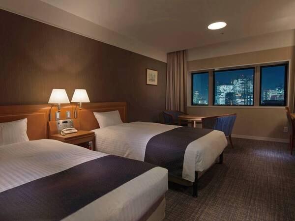 最上階を確約!広々とした空間で贅沢なひと時を過ごせる客室/例