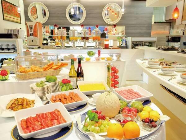 【朝食ビュッフェ/例】※コロナウィルスの影響により和食・洋食セットメニューに変更の場合がございます