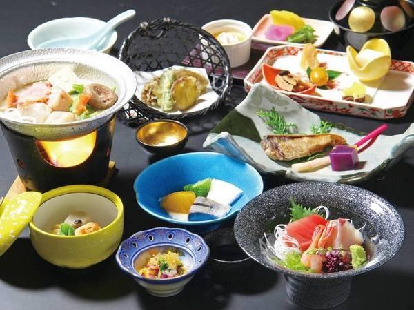 【季節の月替り会席/例】旬食材をふんだんに使ったこだわりの和会席