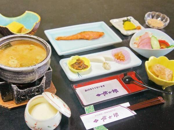 【朝食/例】和食御膳をご用意