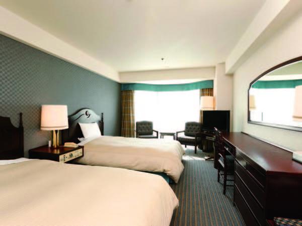 ツインルーム 【ツイン/例】セミダブルサイズ(幅120~140cm)のベッドをご用意