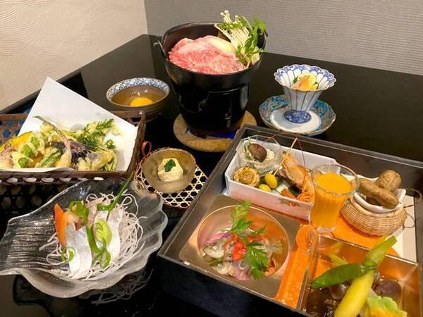 秋の和食膳/一例