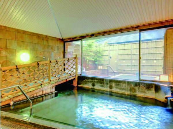【大浴場】湯ざわり滑らかな湯河原の名湯