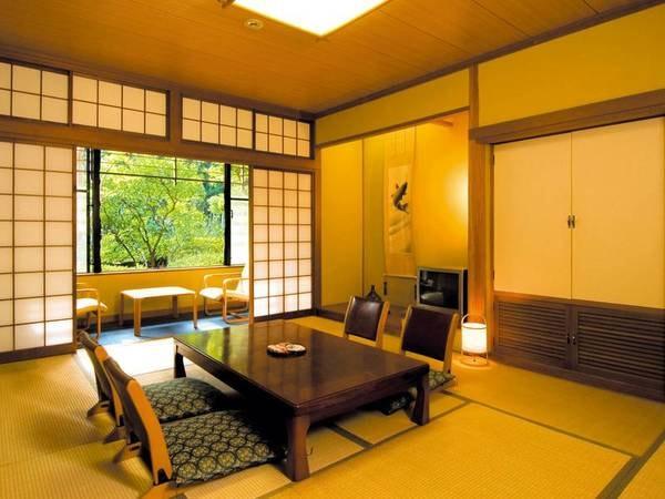 【客室/例】ゆったりと寛げる広縁付きの和室をご用意