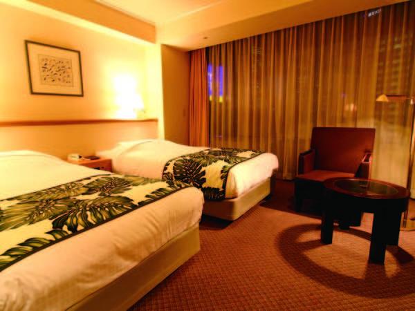 【ツイン/例】広々27㎡。寝心地を追究した「サータ社」のベッドを完備