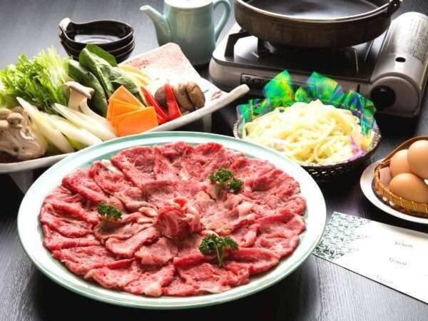 【ケータリング】選べるお手軽夕食・牛すき焼き/一例