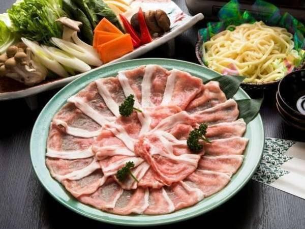 【ケータリング】選べるお手軽夕食・豚しゃぶ/一例