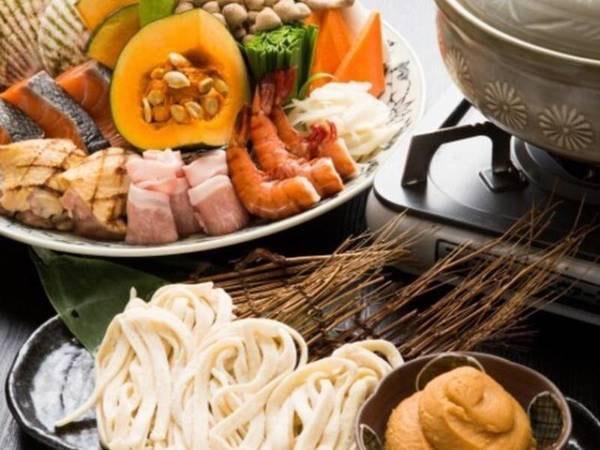【ケータリング】選べるお手軽夕食・ほうとう鍋/一例