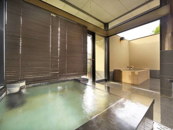 【貸切露天風呂】離れにある貸切風呂