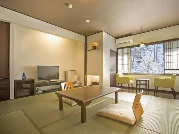 【すずらん亭8畳和室/例】清潔な8畳和室にご案内※お風呂や食事会場より距離があります