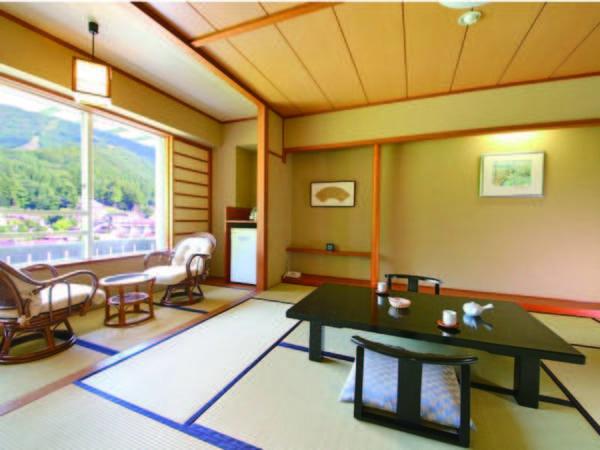 【客室/例】 野沢温泉街を望む和室(洗浄機能トイレ付)