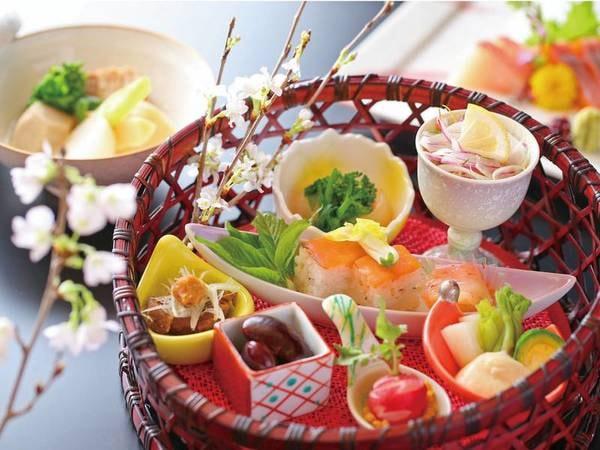 【信州産味覚会席/例】地元農家からの仕入れにこだわり、新鮮な食材を料理長が厳選してご用意!