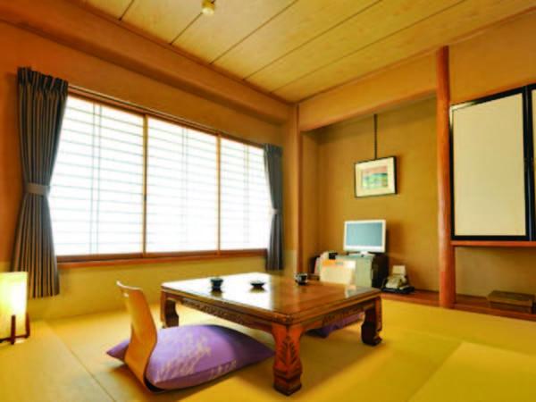 【本館8畳和室/例】1人泊にもおすすめの8畳和室