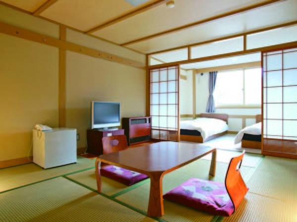 【和洋室/例】8~10畳和室+ツインベッドのお部屋