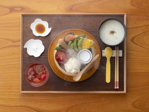 2020年8月リニューアル!自然の恵みたっぷりの朝食を召し上がれ♪(※小学生・幼児メニュー)