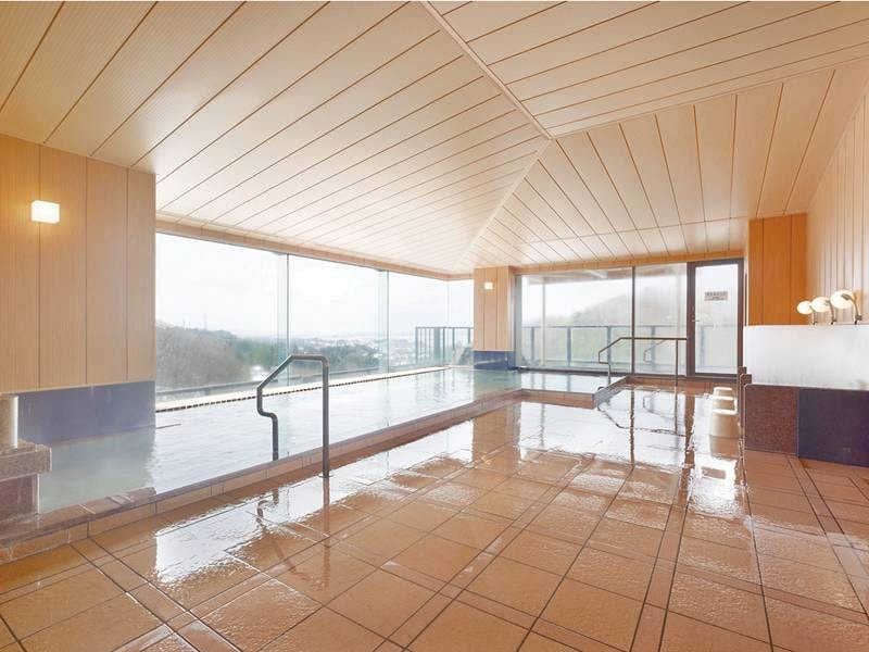 【大浴場】リニューアルされた大浴場