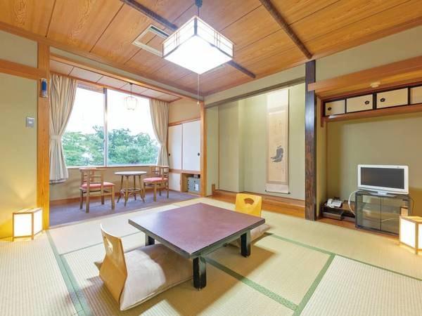 本館和室/例 8畳以上の宿スタンダード客室。フロントや大浴場からも近く移動が便利