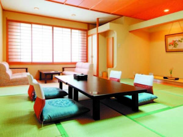 【10畳和室/例】清潔感のある和室にご案内