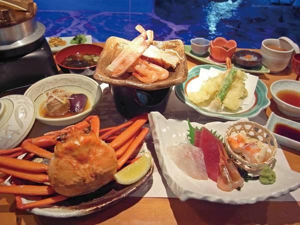 【お得!蟹食べ比べ会席/例】3種の蟹を食べ比べ!