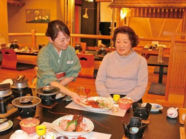 【夕食/例】新鮮な海の幸をご堪能ください!