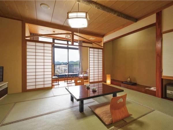 【新館和室/例】港や弥彦山を望む10畳以上和室