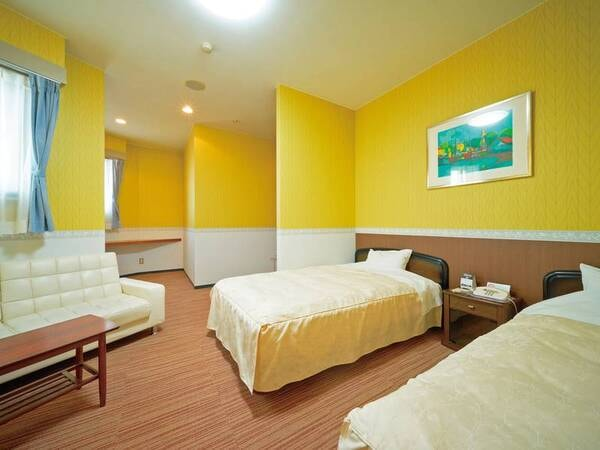 【洋室/例】ベッド派に嬉しい!シンプルな造りの洋室のご用意